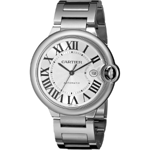 Cartier Mens W69012Z4 Ballon Bleu Stainless Steel Automatic Watch PROD80005279