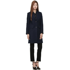 [customellow] [women] tailored solid coat_CFCAW15121NYX, 38