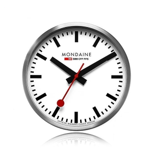 MONDAINE 몬데인 A990.CLOCK.16SBB Wall Clock 벽시계