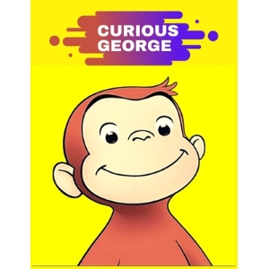 Curious George: Coloring Book for Kids and Adults with Fun Easy and Relaxing Paperback, Independently Published, English, 9798699002474