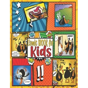 Comic Book for Kids: Black Duck Comic Book with 76 Episode for Kids(4-8) Reading Enjoyment and Fun. Paperback, Independently Published, English, 9798550389478