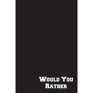 Would You Rather: Cool Game Book For Kids Funny Gift For Teenager Silly Questions Black Cover Paperback, Independently Published, English, 9798550413395