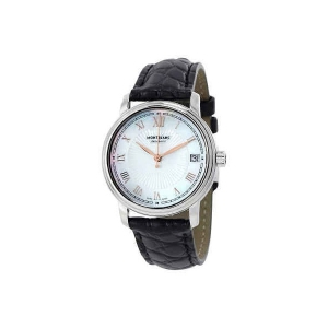 MontBlanc Tradition Automatic MOP Dial Ladies Watch 114366