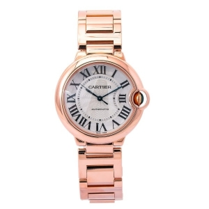 Ballon Bleu Automatic Silver Dial Ladies Watch 3003